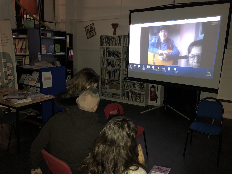 Conversation Skype avec Isidora Velasquez