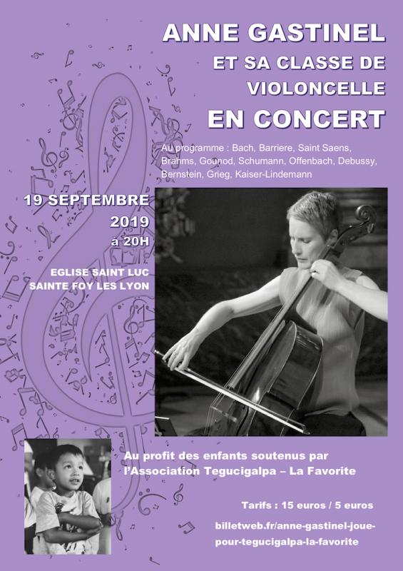 Affiche concert anne gastinel