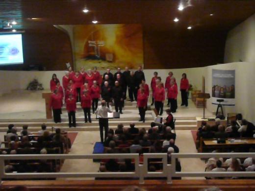 concert organisé par le Concert du Club Amical franco Espagnol d' Annecy (CAFE)