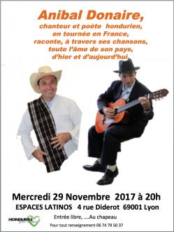 Concert du 29 novembre