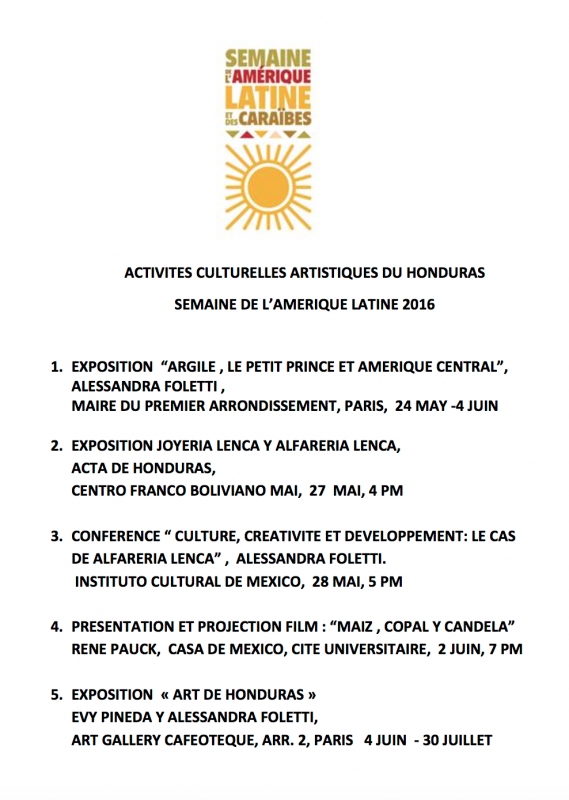 Semaine ame rique latine 29 mai 16